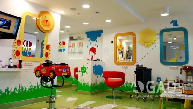 Detské kaderníctvo Kid Hair Cut, Bratislava