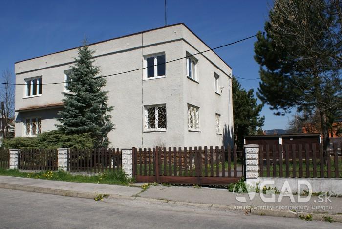 Detský domov, Ružomberok, Murgašova ulica – rekonštrukcia