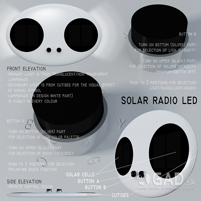 Solar Radio LED