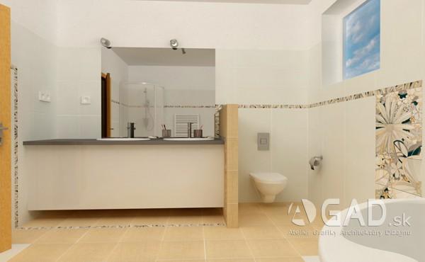Kúpelňa v rodinnom dome, spišská nová ves