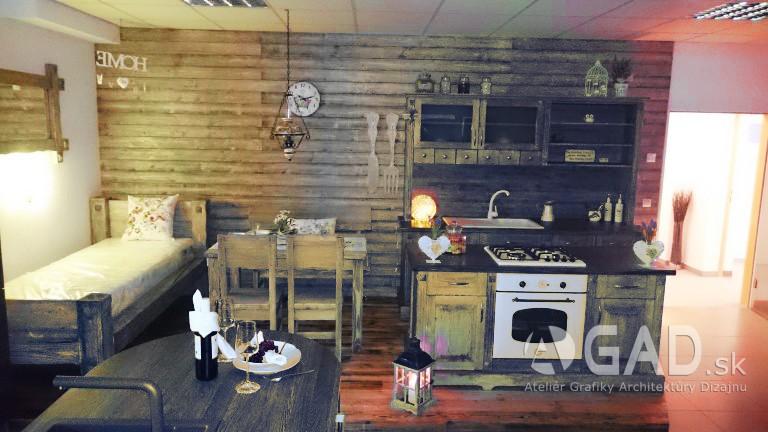 Showroom pre nábytkovú firmu – návrh interiéru, Rakúsko